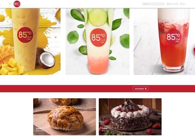 85 Degrees Cafe