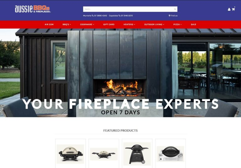 Aussie BBQ's and Fireplaces